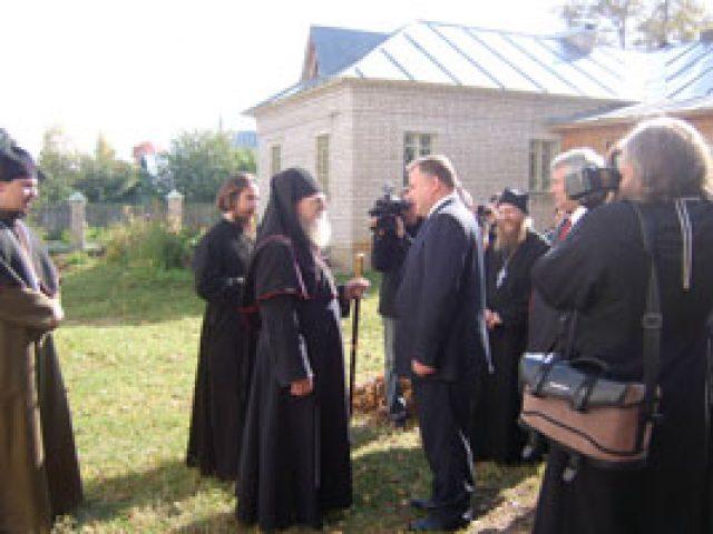 Встреча с губернатором Костромской области