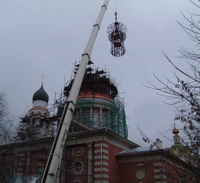 Храм Рожества Христова в Рогожской слободе. Реставрация 2009