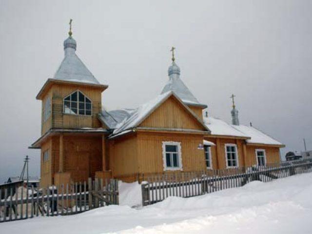 Освящение храма в селе Афанасьево