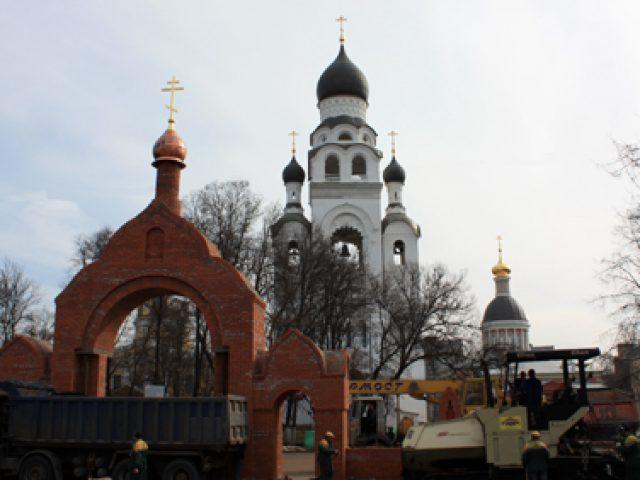 Реставрационные работы в Рогожской слободе