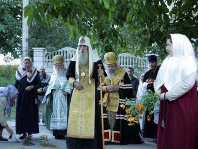 Архипастырское богослужение в Кишиневе