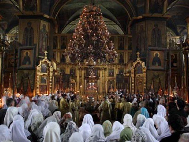 Престольный праздник в Покровском кафедральном соборе