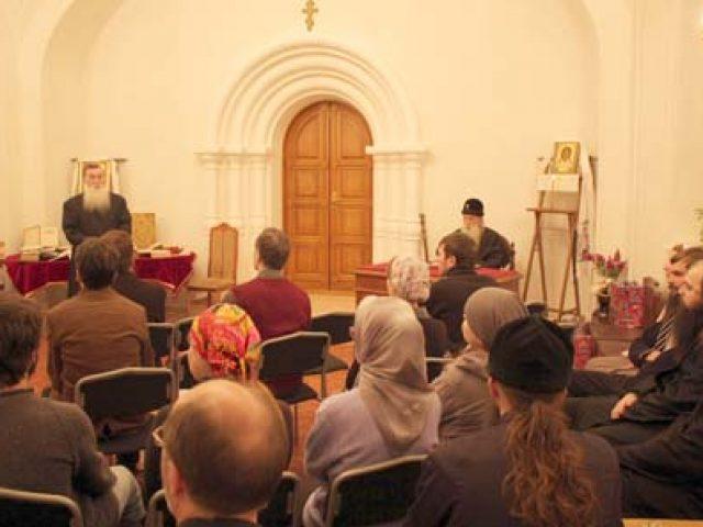 Вечер памяти святого праведного Иоанна Федорова