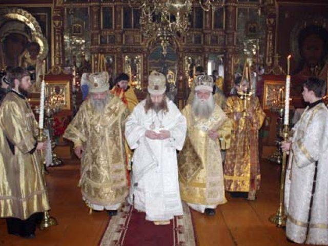 В с. Стрельникове состоялась епископская хиротония священноинока Викентия (Новожилова)