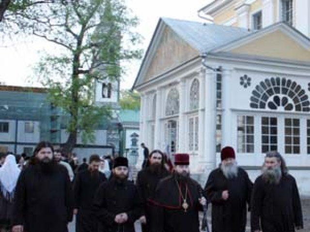 В Рогожский духовный центр прибыла делегация Белокриницкой Митрополии во главе с архиепископом Флавианом