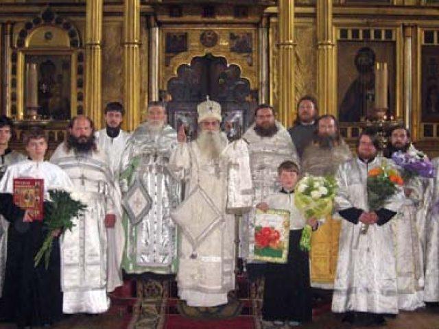 День ангела Преосвященнейшего митрополита Корнилия
