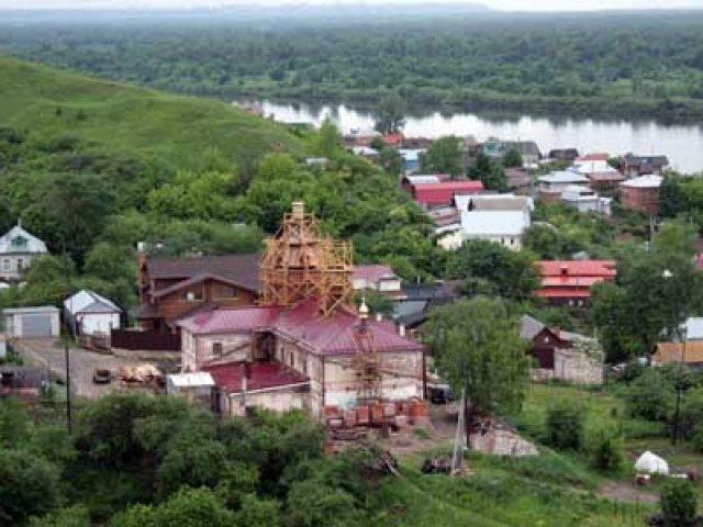 Освящение храма в селе Безводном