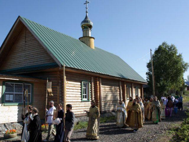 В г. Лысьве освящен храм во имя прпмч. Константина и Аркадия, Шамарских чудотворцев