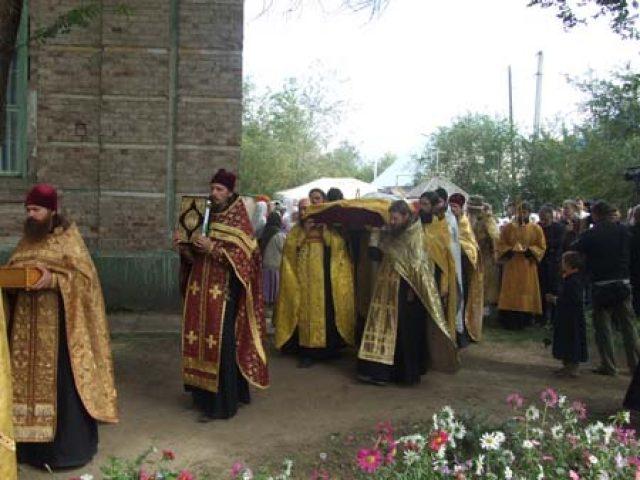 В Уральске прошли торжества, посвященные обретению мощей святителя Арсения
