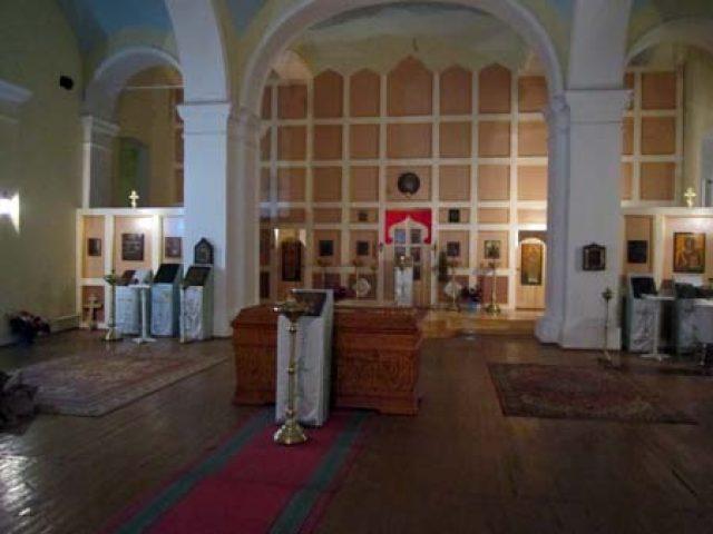 Освящение храма в городе Уральске