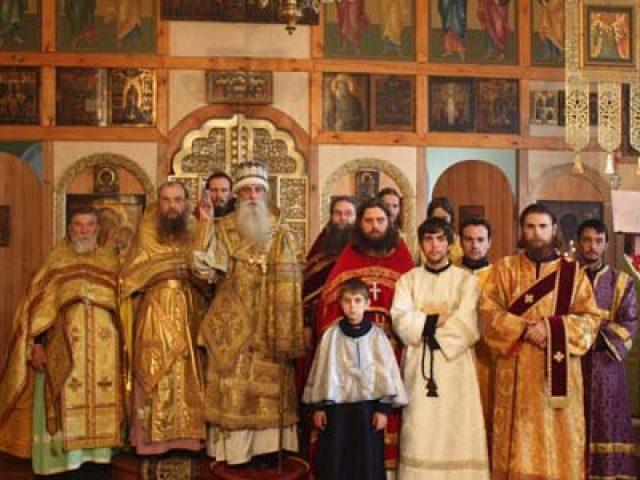 Архиерейское богослужение в Оренбурге
