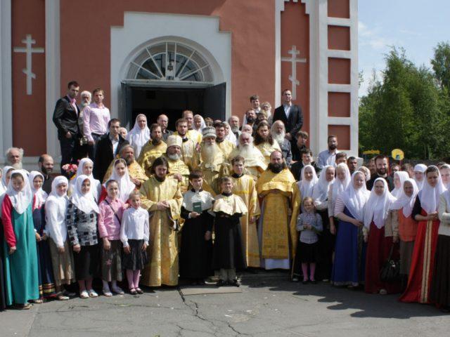 Архипастырский визит в Санкт-Петербург