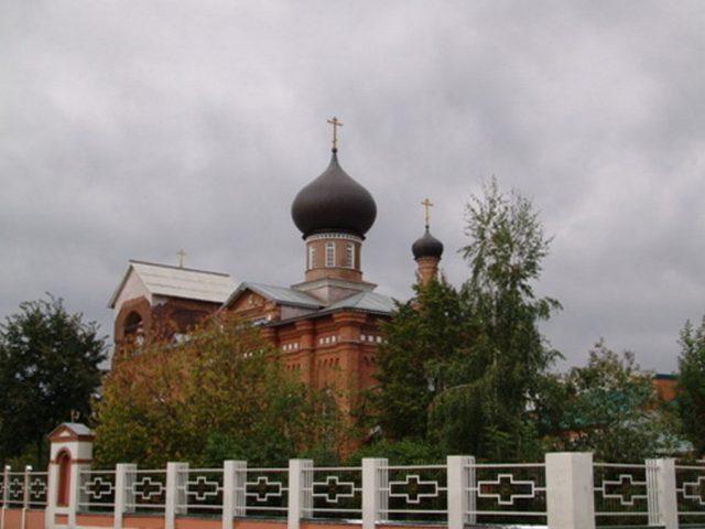 Освящение храма в г. Орехово-Зуево
