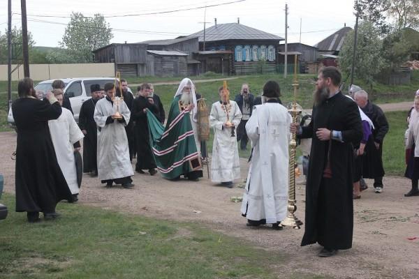 Визит Митрополита на Урал