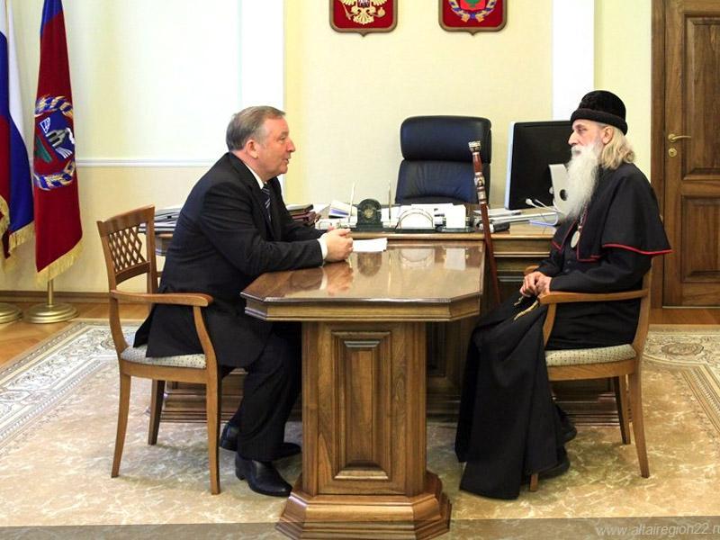 Визит митрополита Корнилия в Барнаул