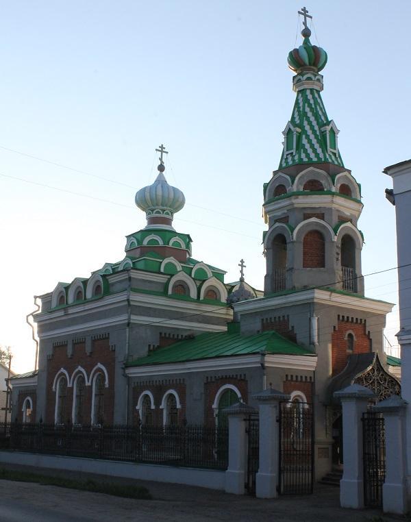 Освящение храма в г. Моршанске