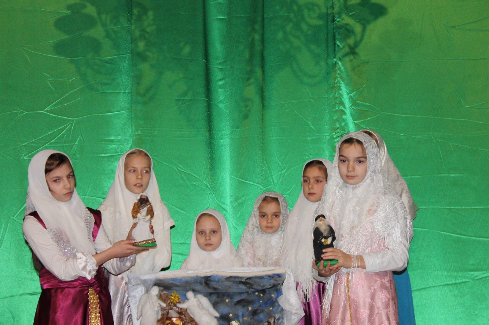 Гуслицкие рождественские встречи в Орехово-Зуеве