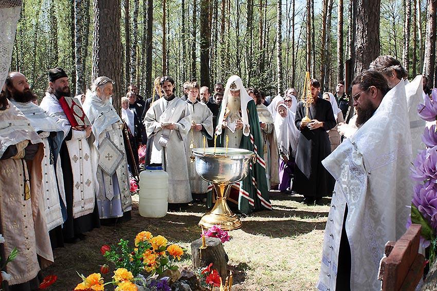 Крестный ход в Беливо