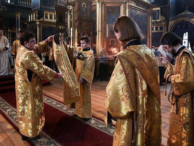 Кафедральный храм на Рогожском отметил престольный праздник