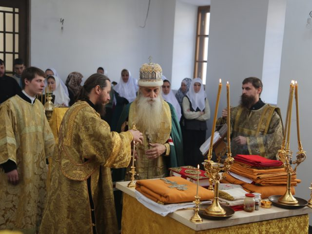 Освящение храма в Симферополе 2017