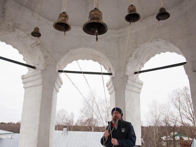 В Николо-Улейминском монастыре появились колокола