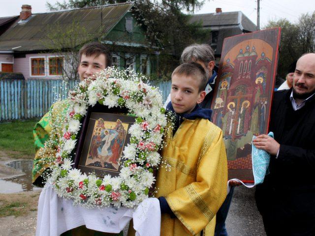 Крестный ход в Давыдово