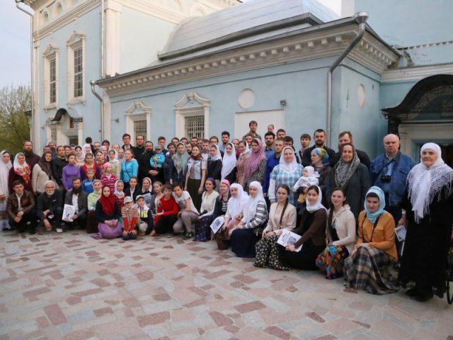 Участники праздника свв.жен-мироносиц съездили в Калугу