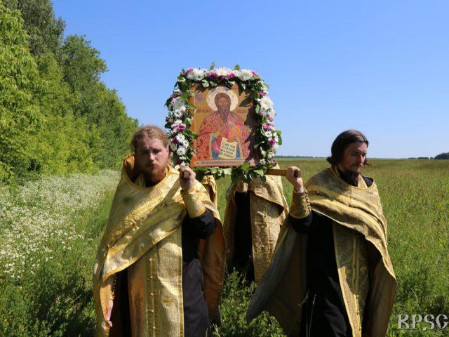 Крестный ход из Большого Мурашкина в Григорово