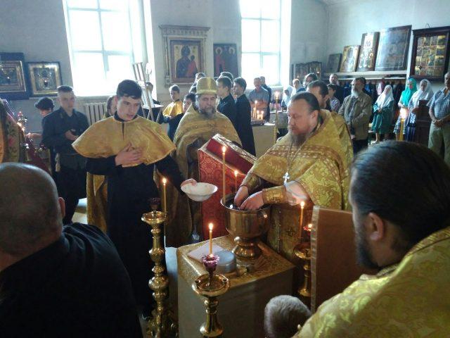 Празднование явления чудотворныя иконы Пресвятыя Богородицы Оковецко-Ржевския