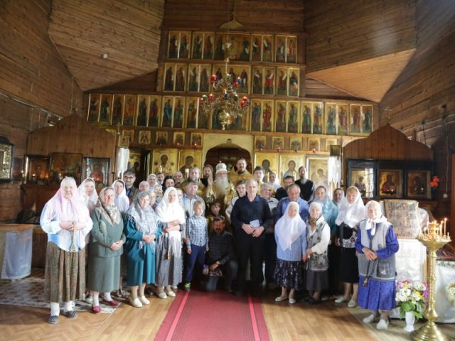 Архипастырский визит в Сычевку
