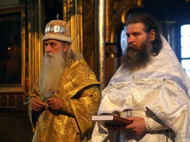 Иерейская хиротония о. Георгия Заколюкина