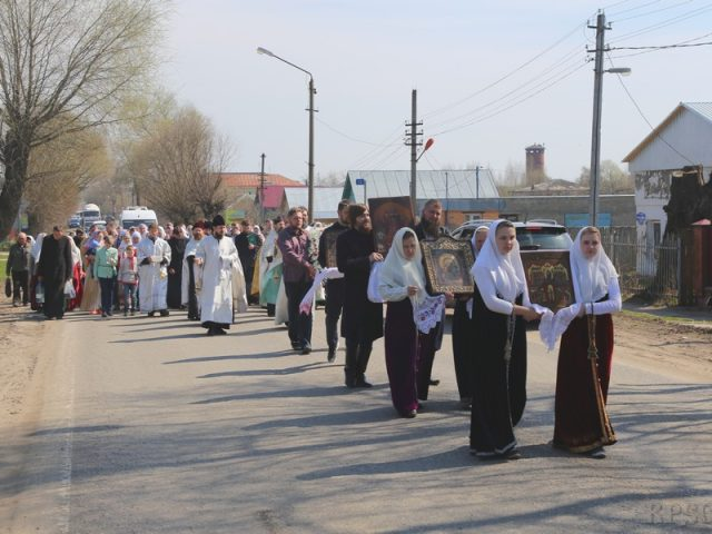 Прославление Пасхи в Давыдове