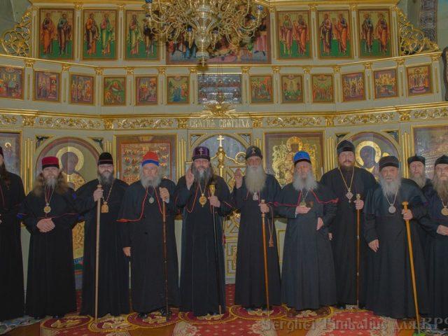 Встреча архиереев двух Митрополий в Кишиневе