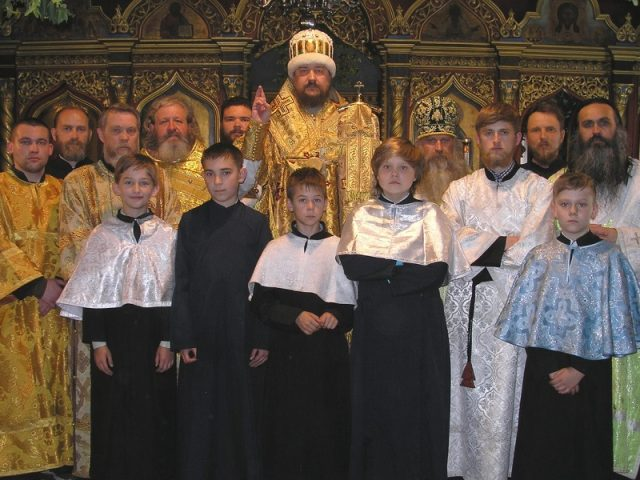 Торжества в Виннице на праздник Троицы