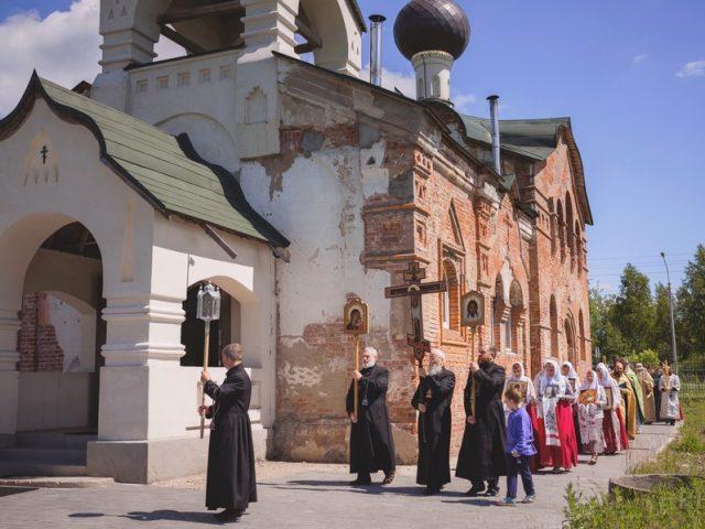 Престольный праздник храма прп. Анны Кашинской