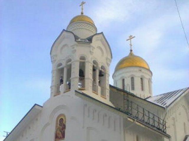 Храм в Красноярске готовится к освящению