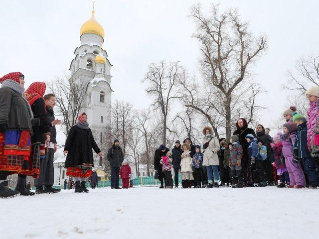 Детский праздник на Рогожском