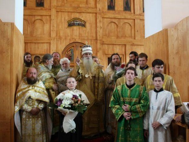 Освящение храма в городе Боре Нижегородской области