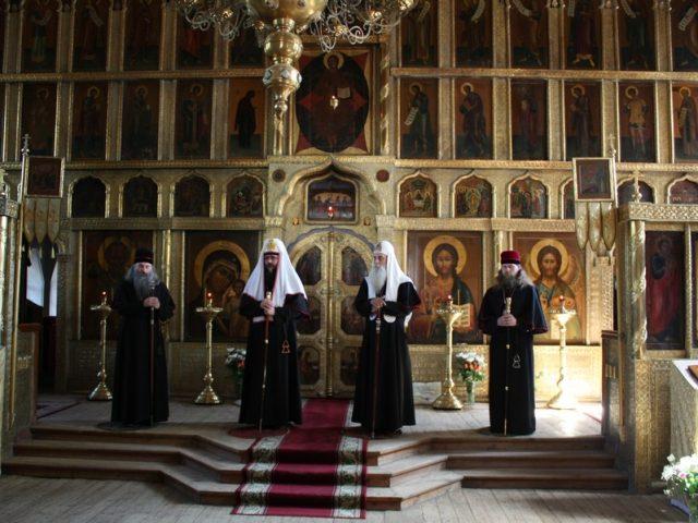 Служение старообрядческих митрополитов в Казани