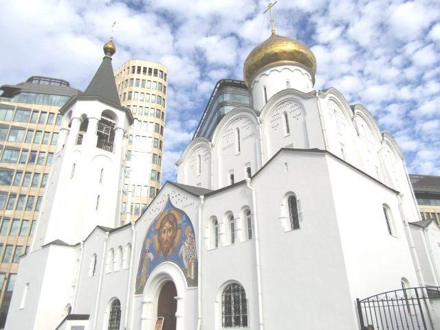 Москва, храм у Тверской заставы
