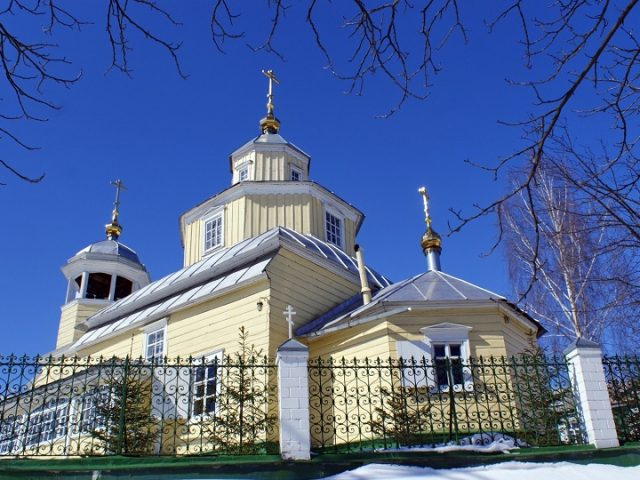Гомельскому храму св. пророка Илии исполнилось 225 лет