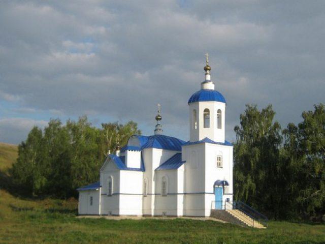 22 июня 2012 г. освящен храм в с. Соболевское Казанско-Вятской епархии