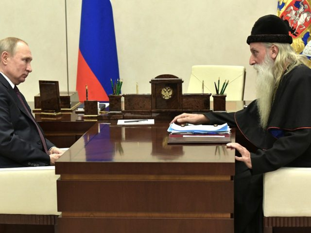 Митрополит Корнилий встретился с Владимиром Владимировичем Путиным