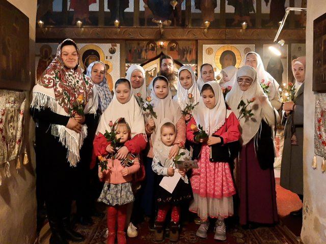 Новгородцы поздравили с юбилеем своего настоятеля