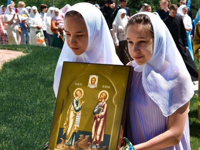 Престольный праздник в Краснокаменке