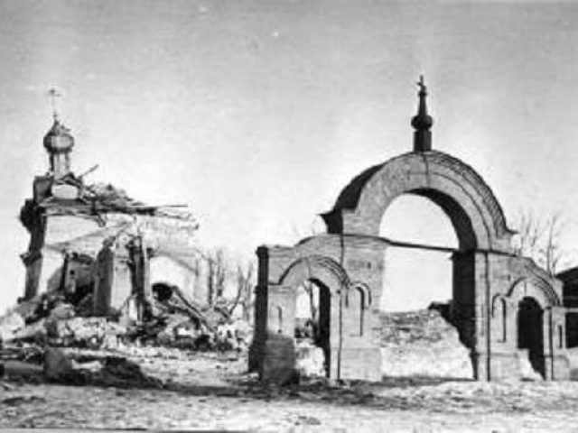 Сычевка и окрестные приходы в годы Великой Отечественной войны и послевоенное время