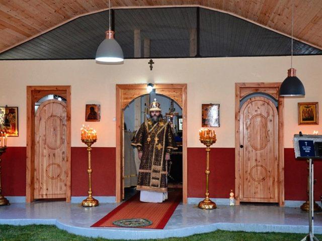 При старообрядческом  монастыре в Румынии появился летний алтарь