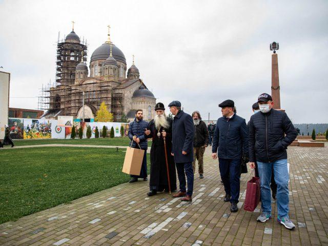 Митрополит Корнилий посетил Боровск
