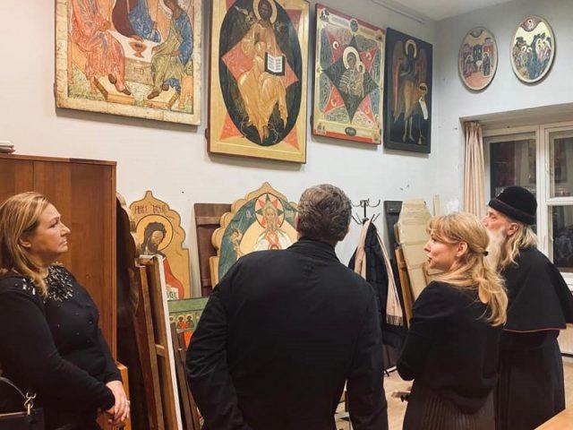 Митрополит Корнилий в Академии Глазунова