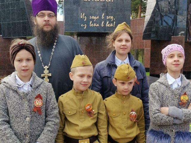 Клинцовские старообрядцы приняли участие в праздновании Дня Победы